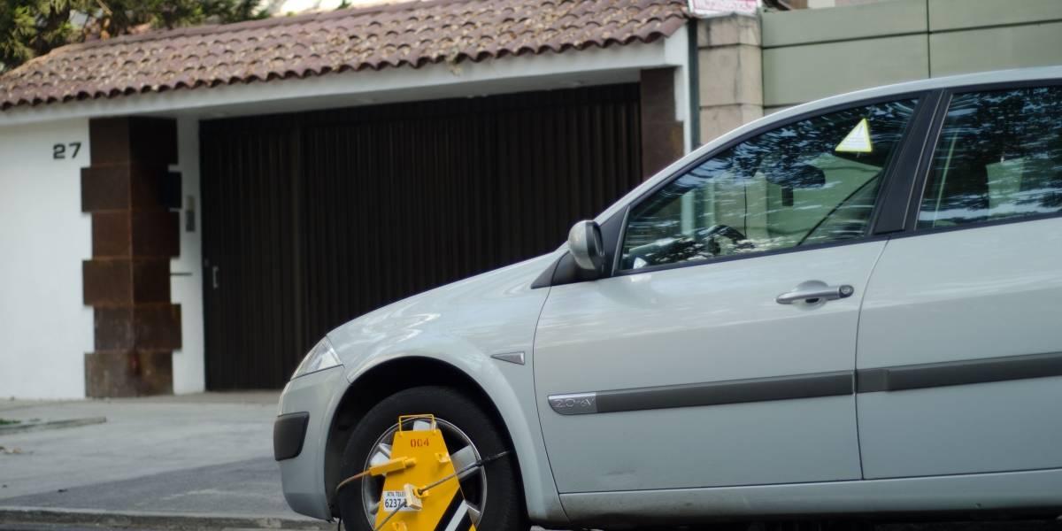 En estos lugares no te puedes estacionar en la CDMX