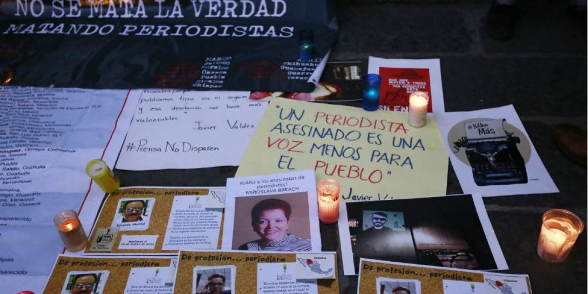Barbosa pide decretar tres días de luto por periodistas asesinados