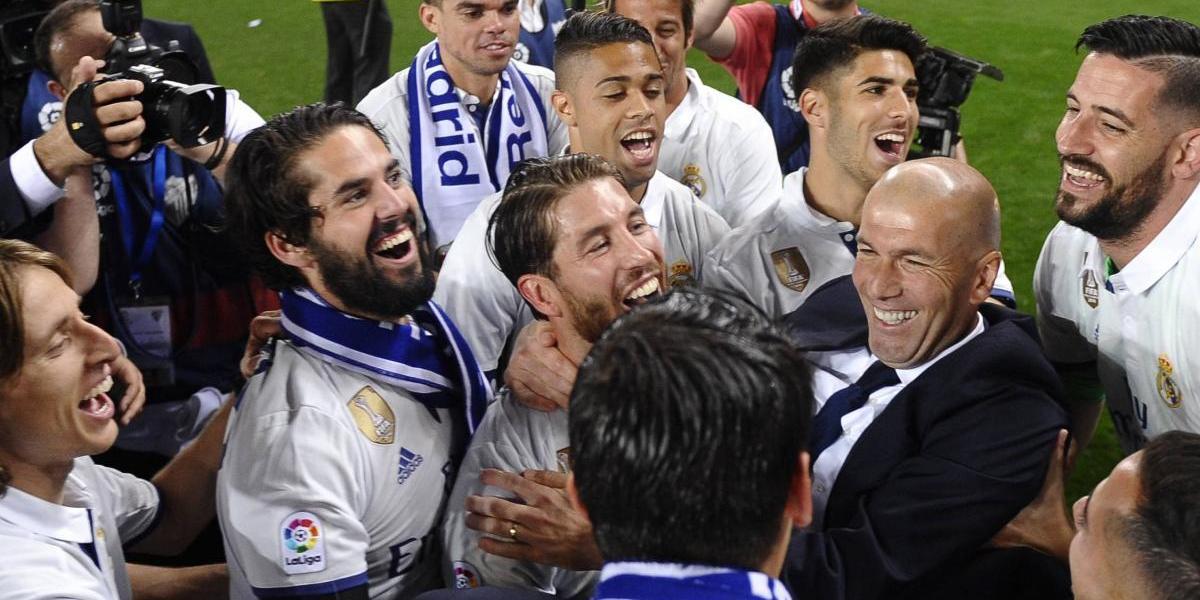 Real Madrid, campeones de la Liga española