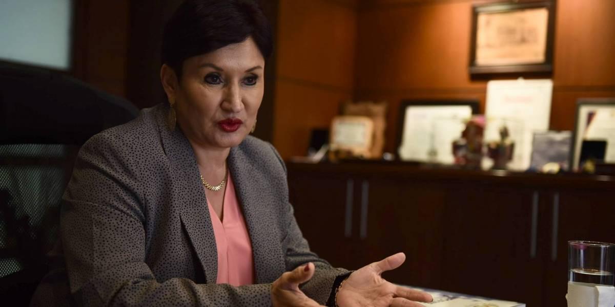 """Fiscal Thelma Aldana: """"Tengo muchísimos enemigos. Es el crimen organizado"""""""