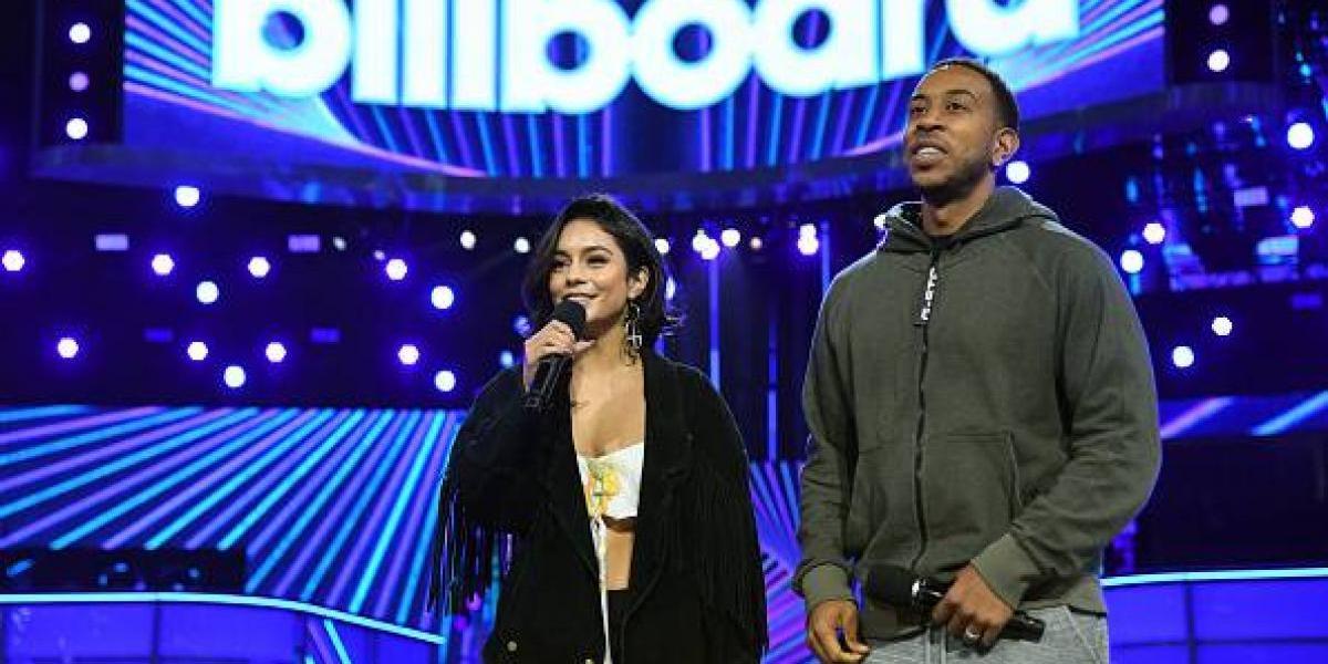 Vanessa Hudgens y Ludacris se preparan para conducir los Billboard Music Awards 2017
