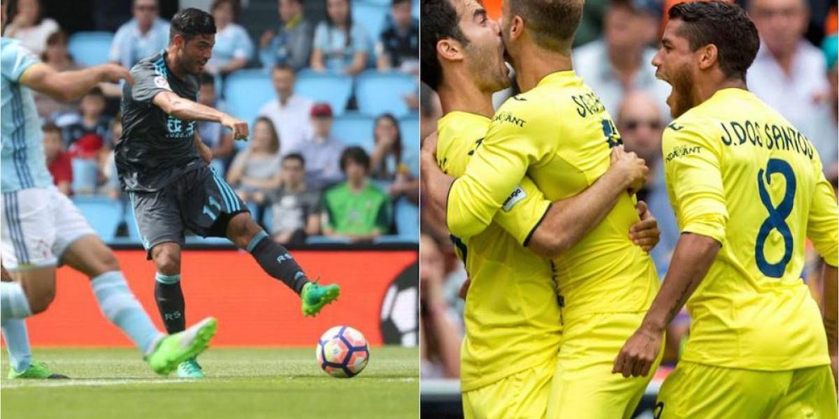Carlos Vela y Jonathan dos Santos consiguieron su acceso a la próxima Europa League