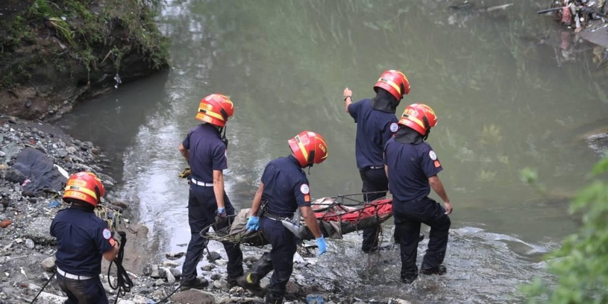 Localizan cuerpo sin vida en río Las Vacas, zona 6