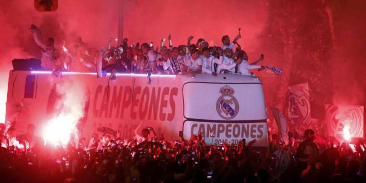 Con mensaje a Piqué y al Atlético de Madrid: la otra celebración de Real Madrid