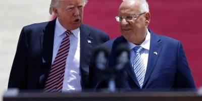 Palestinos en Jerusalén reciben a Donald Trump con una huelga