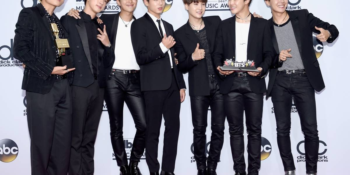 BTS hace historia: Son el primer grupo K-Pop en ganar un premio Billboard