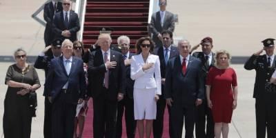 Melania desaíra a Trump durante gira por Israel