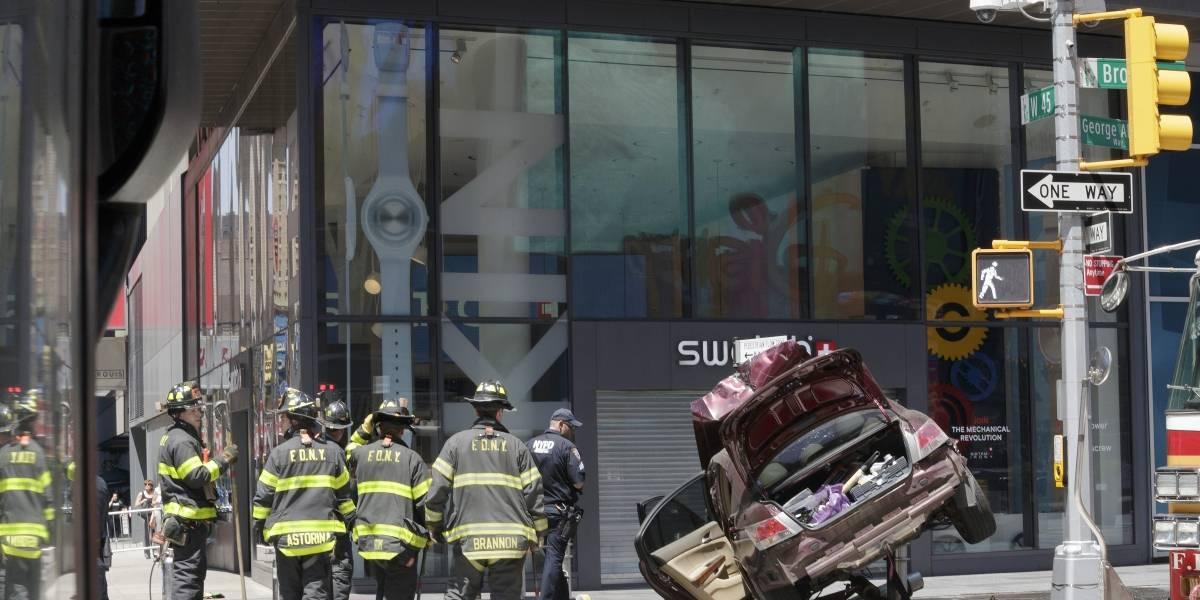 Acusado accidente de Times Square: Quería solucionar mi vida, quería una novia