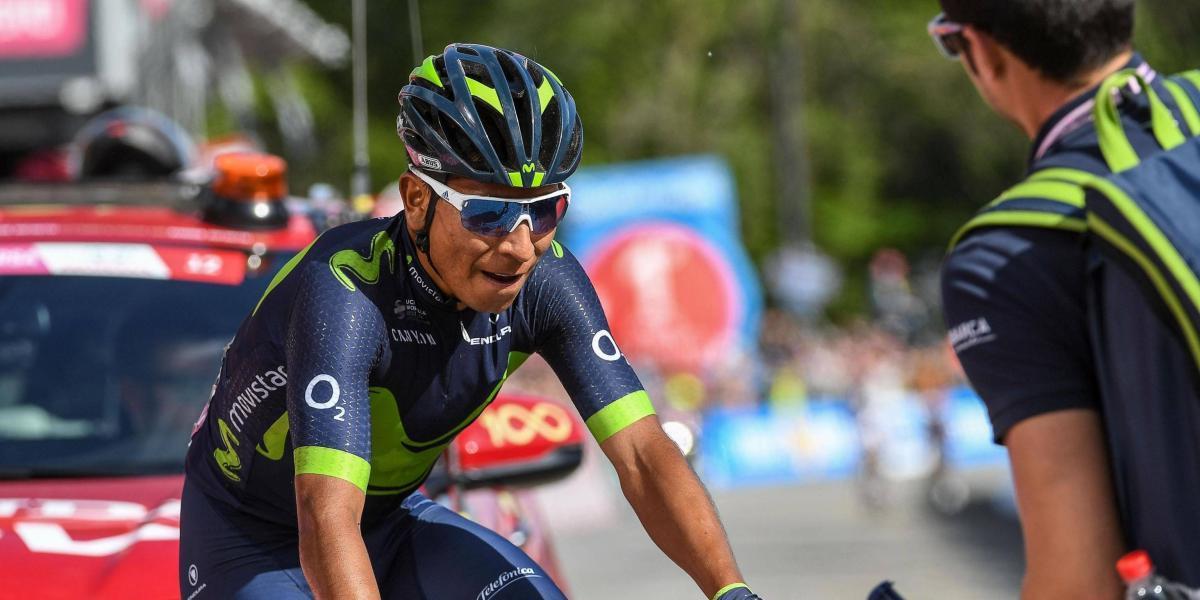 """""""Puedo ganar el Giro"""", el mensaje de Nairo a Dumoulin, previo al regreso"""