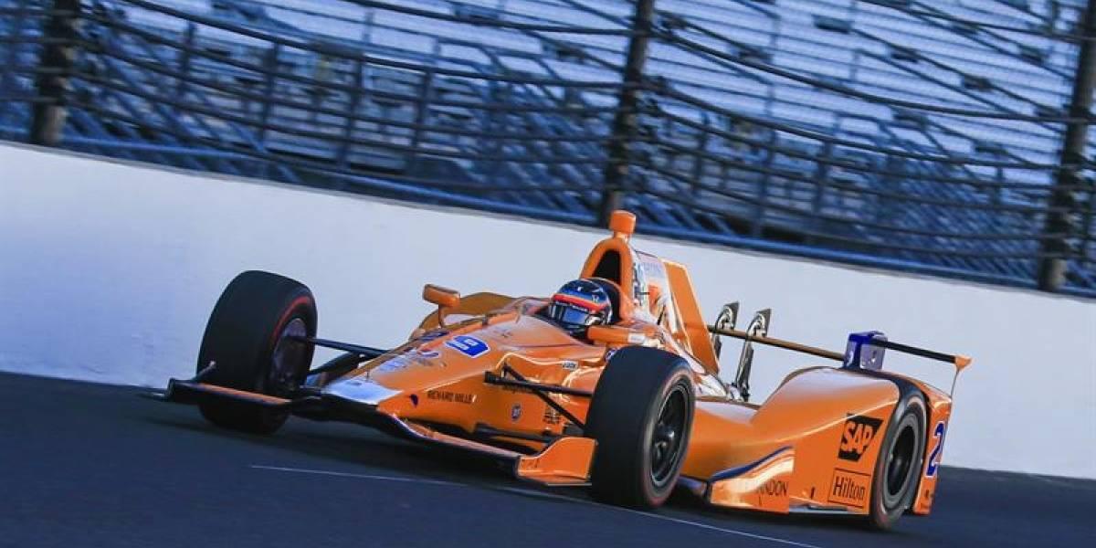 Fernando Alonso partirá quinto en las 500 millas de Indianápolis