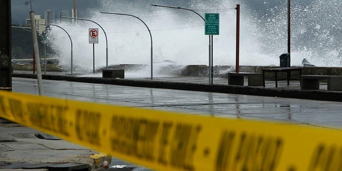 Armada anuncia nueva alerta por marejadas en la costas del país
