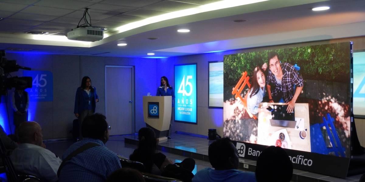 Banco del Pacífico presenta una aplicación para millennials