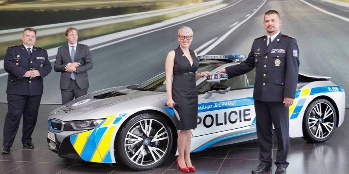 Otro nivel: así es el BMW de la policía checa