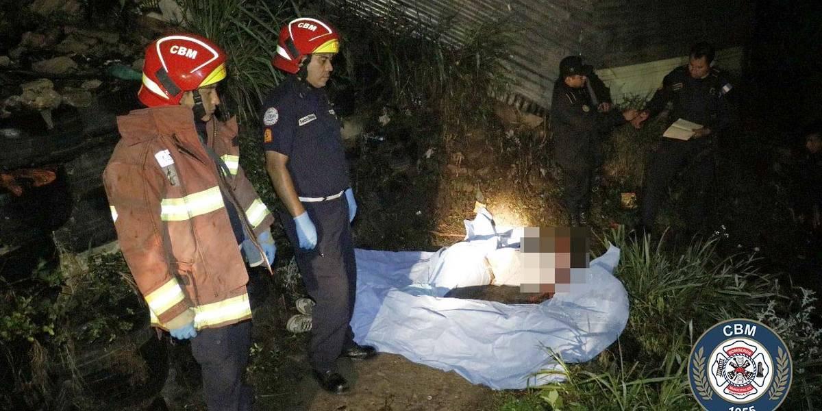 Localizan tres personas fallecidas en Villa Nueva y Mixco