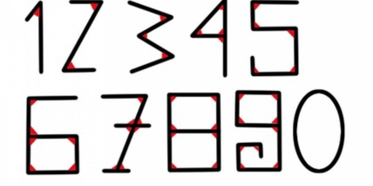 ¿Porqué los números tienen esa forma?