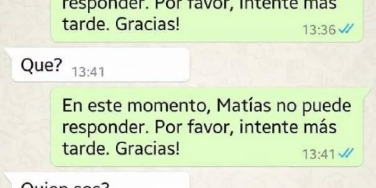Hijo le hace épico troleo a su mamá en WhatsApp y se convierte en último viral de la web