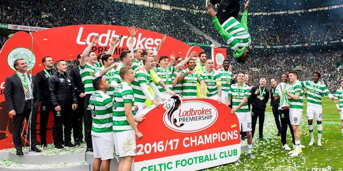 Impresionante récord del Celtic: gritó campeón invicto y desató la fiesta en Glasgow