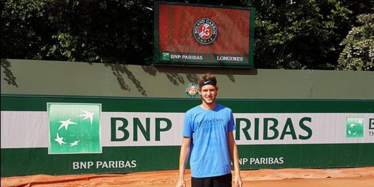 Jarry quedó a un triunfo del cuadro principal de Roland Garros y es nuevo N° 1 de Chile