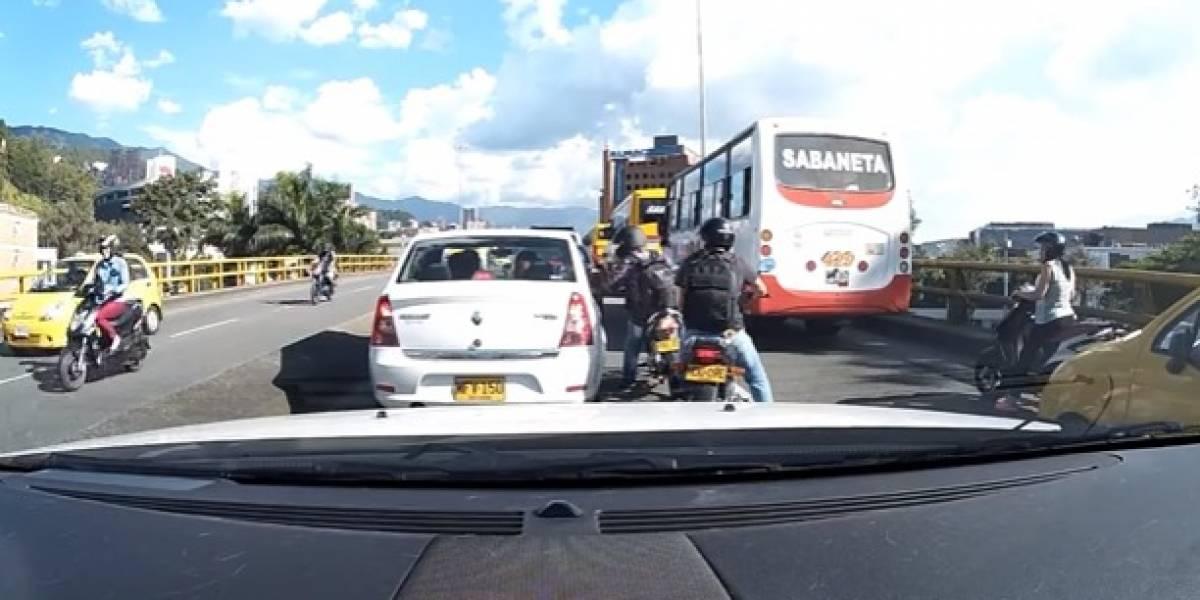 ¡Fleteros están alborotados! Dos casos durante la última semana en Medellín