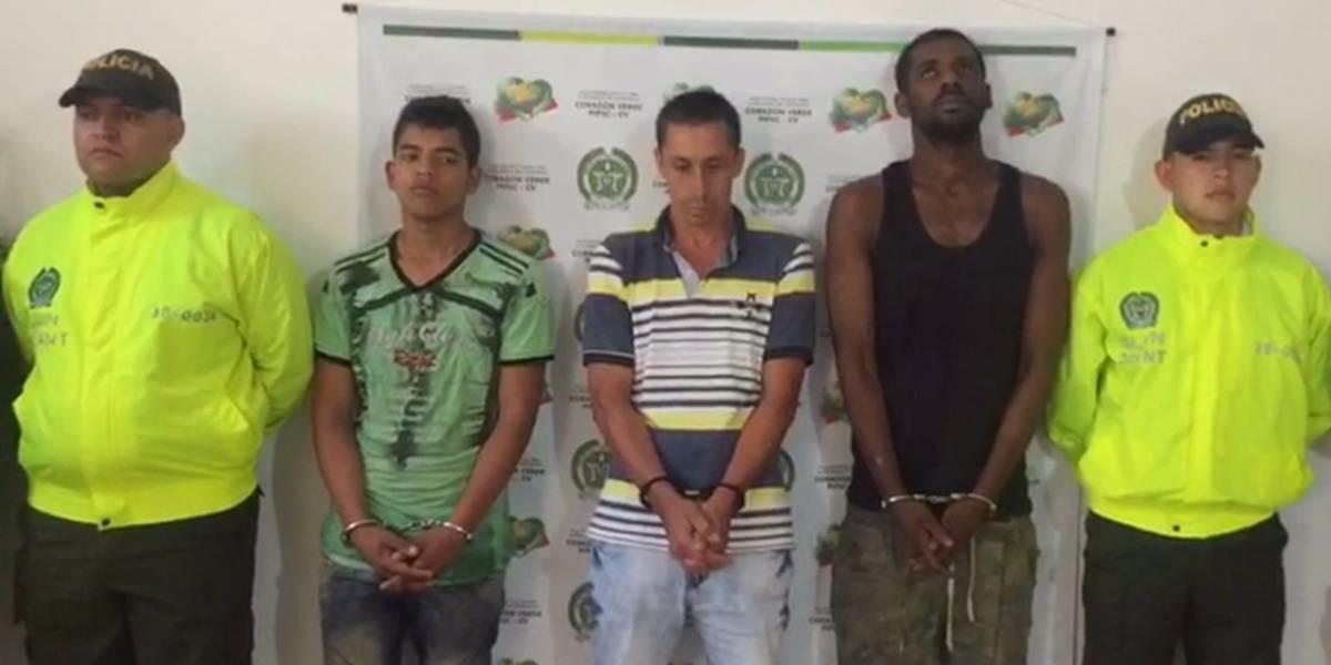 En tiempo record capturaron a los responsables de plan pistola en Pueblorrico Antioquia