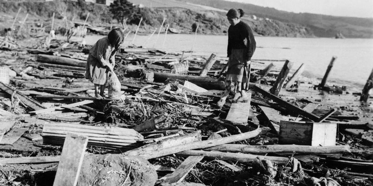 El día en que Valdivia enfrentó el mayor cataclismo de la historia: tres terremotos previos, un megaterremoto, un tsunami y una hazaña