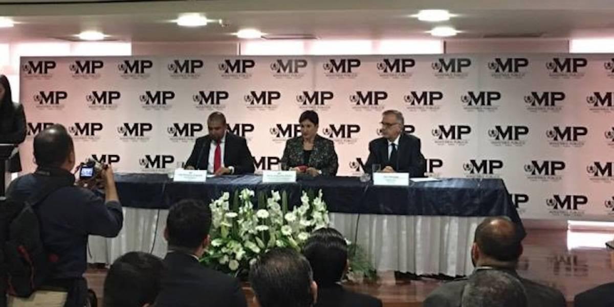 SAT, MP y CICIG firman convenio para el intercambio de información