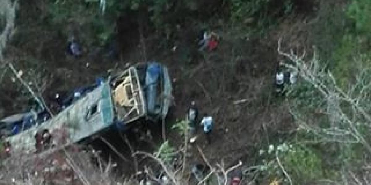 Accidente de autobús provoca al menos 17 muertos en Chiapas
