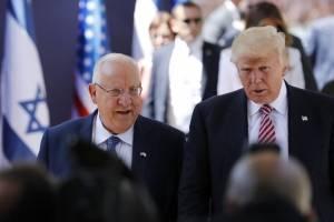 Reuven Rivlin y Donald Trump