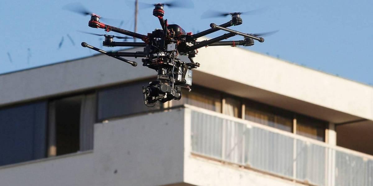 Presentan recurso de protección contra drones de televigilancia de Las Condes