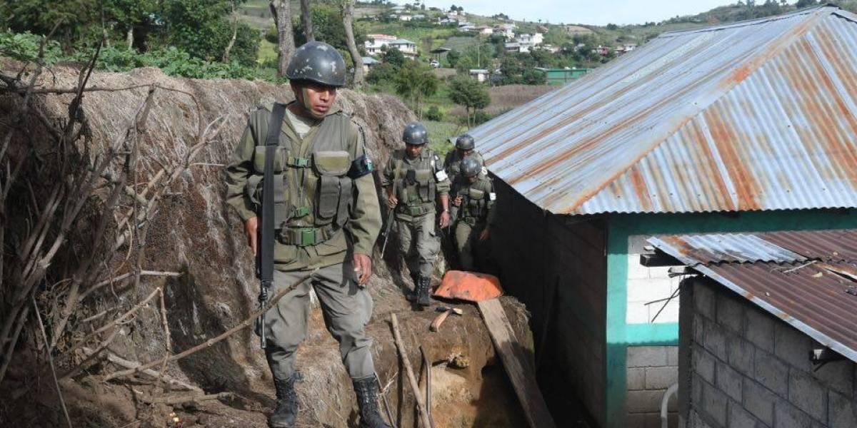 Sin capturas termina operativo por estado de Sitio coordinado por el MP