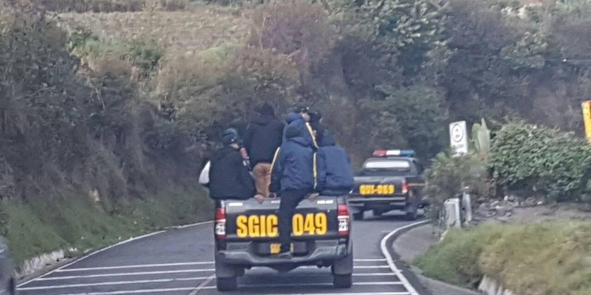 PNC realiza diez allanamientos en Ixchiguán y Tajumulco en busca de ilícitos