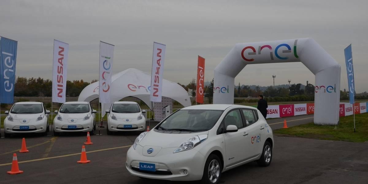 Llega a Chile la flota más grande de autos eléctricos en Latinoamérica