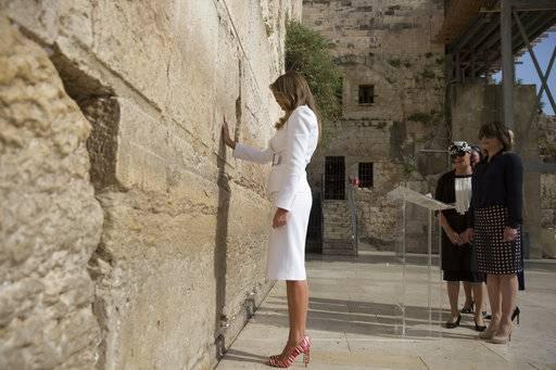 Melania Trump Foto: AP