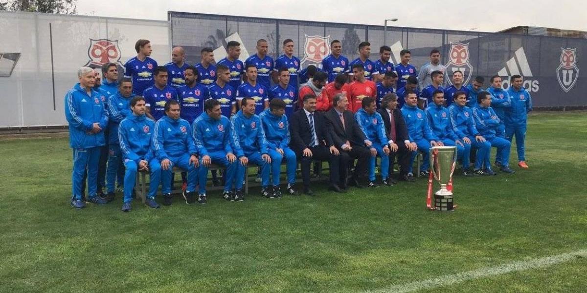 La U prosigue sus celebraciones: se tomó la foto oficial del campeón