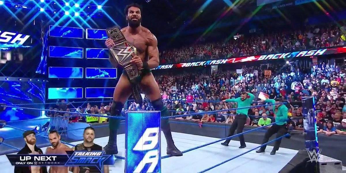 Jinder Mahal dio el golpe a la cátedra en la WWE: es el nuevo campeón mundial