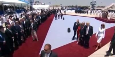 Trump llamó en Jerusalén a alcanzar la paz