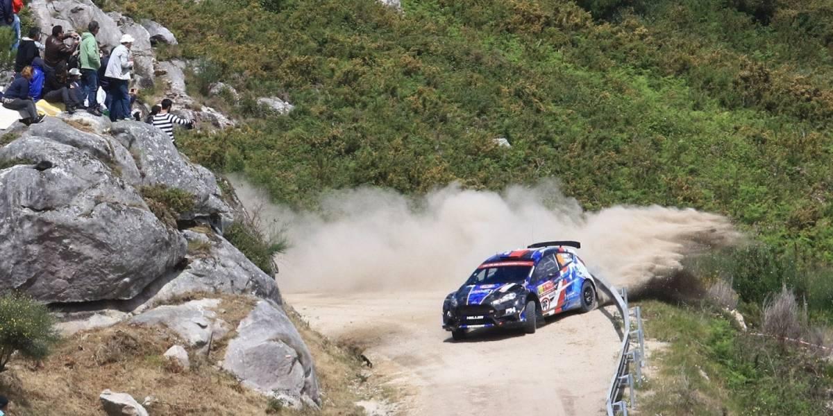 Pedro Heller entre los top 10 del WRC-2 en Portugal