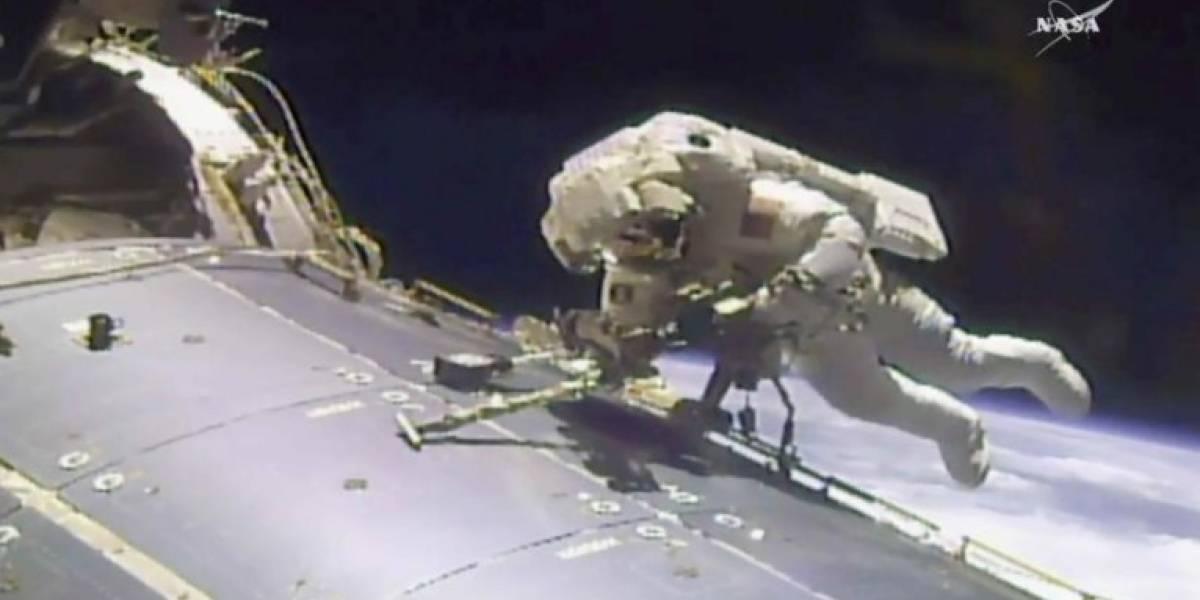 NASA ordena reparación urgente a la estación espacial