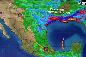 Pronóstico del tiempo para hoy lunes 22 de mayo