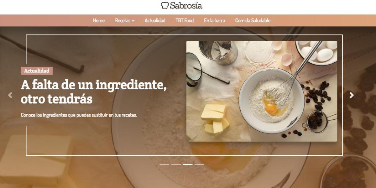 Metro lanza portal de gastronomía