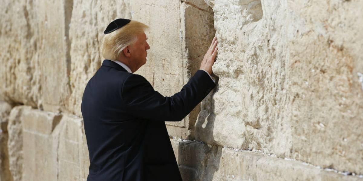 Familia de Trump visita el Muro de los Lamentos en Jerusalén