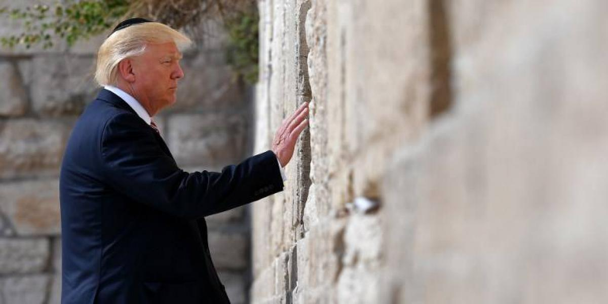¿Por qué Trump usa un gorro judío en su recorrido por el Muro de los lamentos si es protestante?