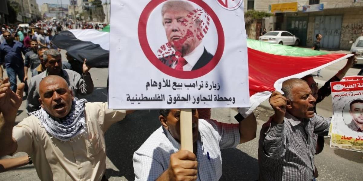 Menor palestino muere por disparos de policía israelí luego de intentar atacar en medio de visita de Trump