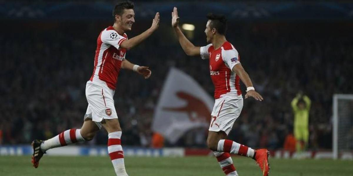 """Apuntan a Alexis: """"Sánchez y Özil son los culpables de la caída de Arsenal"""""""