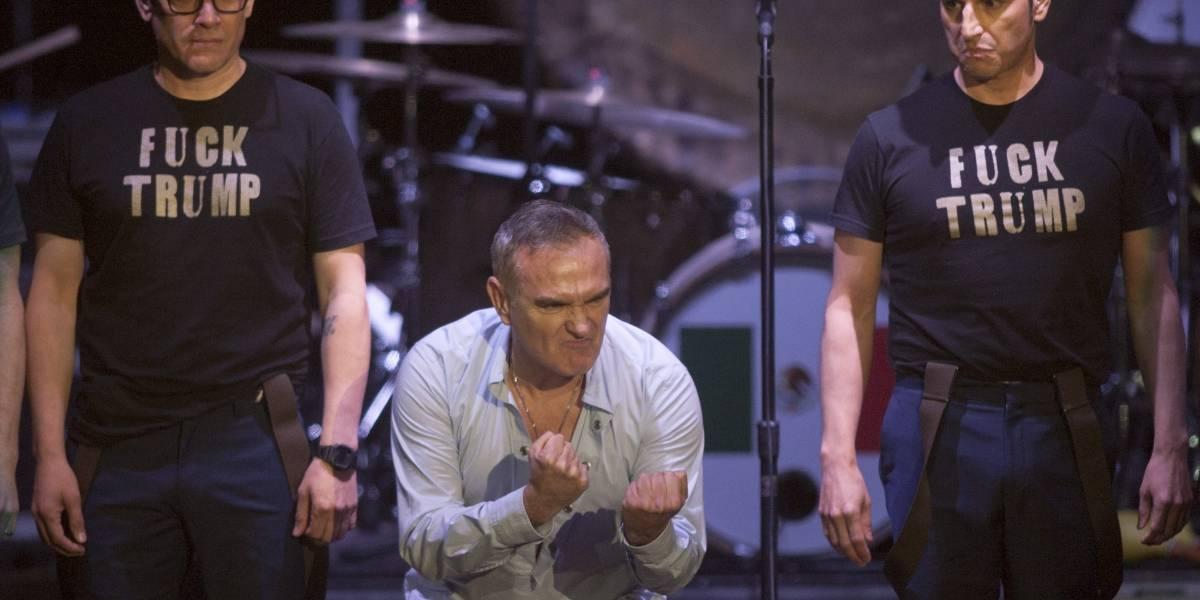 """Morrissey y el atentado en Manchester: """"Los políticos nos dicen que no tienen miedo, pero nunca son las víctimas"""""""