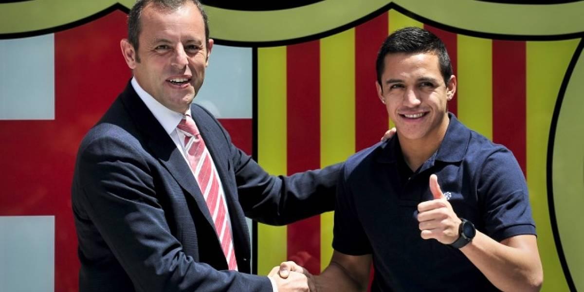 Detienen al ex presidente del Barcelona que llevó a Alexis a España