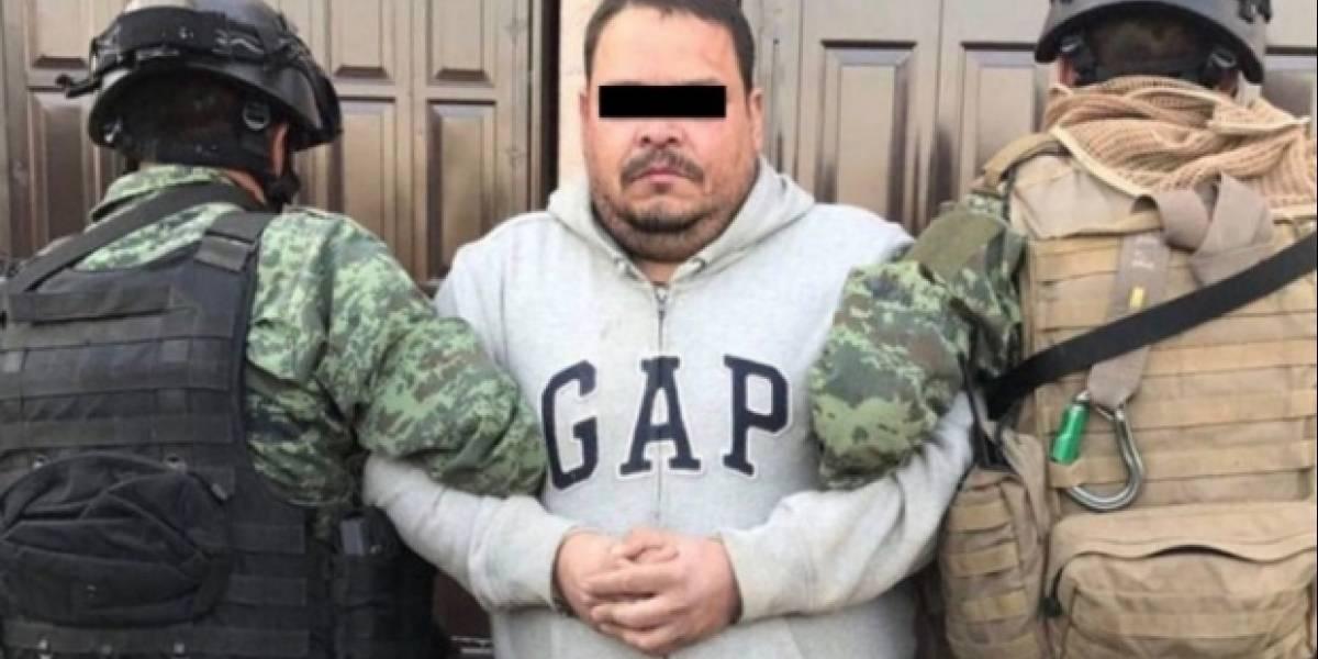 """Detienen a """"La Hamburgesa"""", presunto líder del Cártel del Golfo en Zacatecas"""