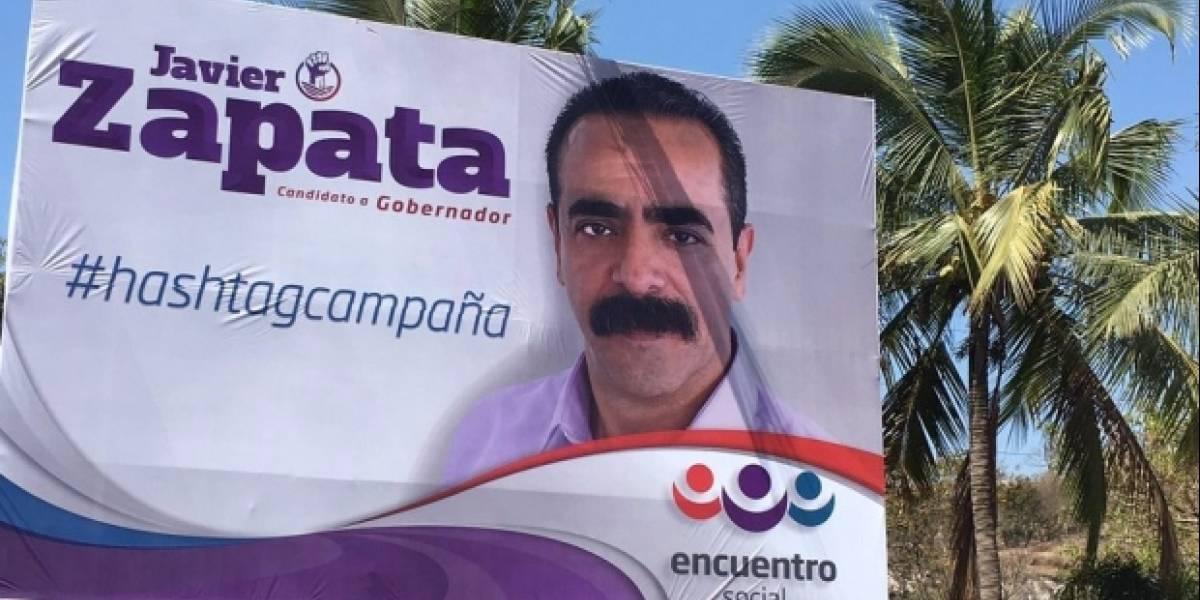 Javier Zapata y el supuesto error para promocionar su campaña en Nayarit