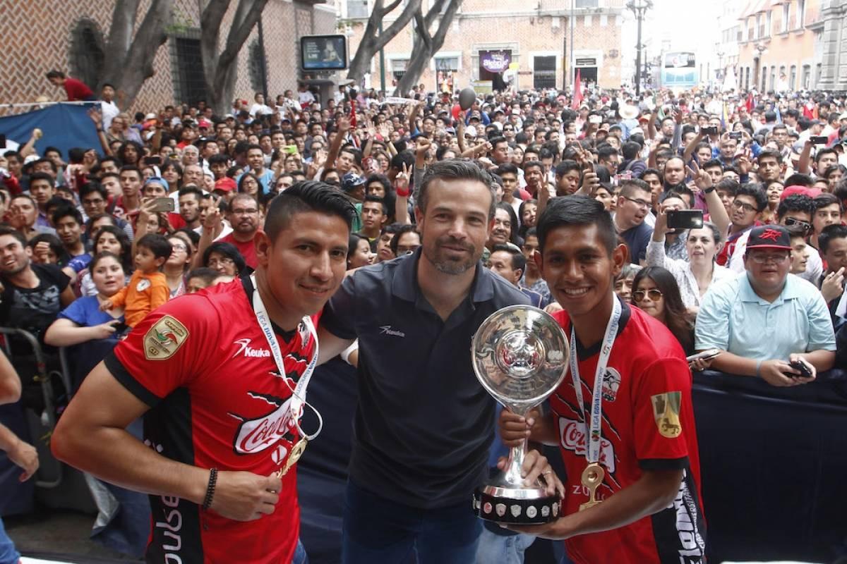 Rafa Puente Jr. convocó a los aficionados. / Mexsport