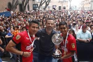 Lobos BUAP celebró con su afición el ascenso a Primera División